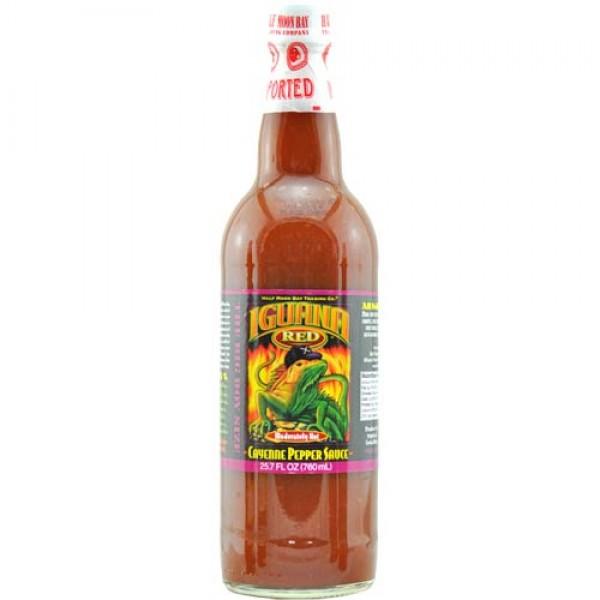 Iguana Red Cayenne Pepper Sauce (0,76 l)