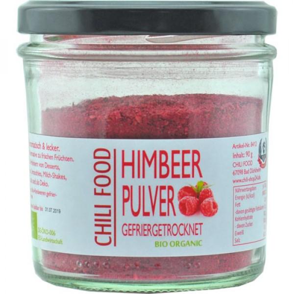 Organic Raspberry Powder freeze-dried