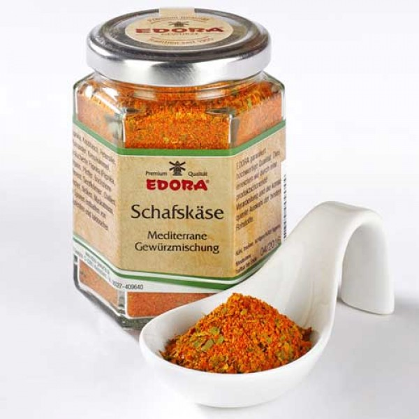 Greek style sheep cheese spice preparation