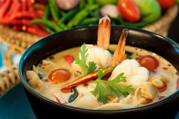 Tom Yum Gung - Thai Prawn Soup