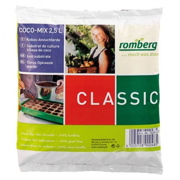 Coconut potting soil 2.5 litres