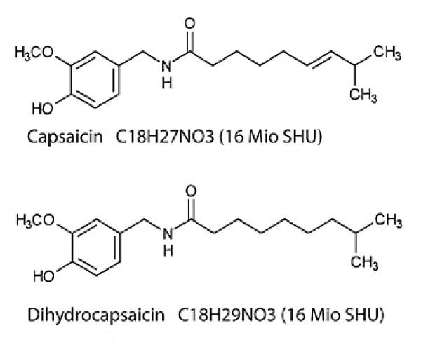 Capsaicin - Spiciness