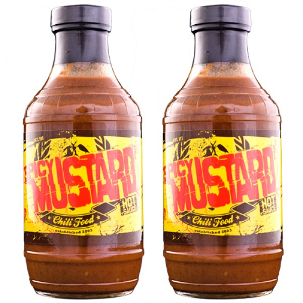 Spicy Mustard Sauce Saver Twin Pack