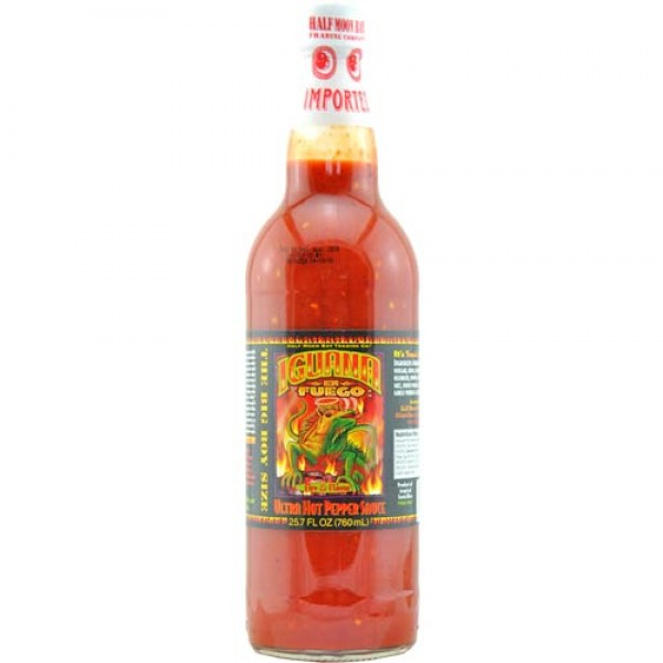 "Iguana ""En Fuego"" Ultra Hot Pepper Sauce (0,76 l)"