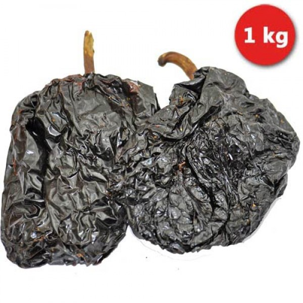 Whole dried red Mulato Chillies, 1kg