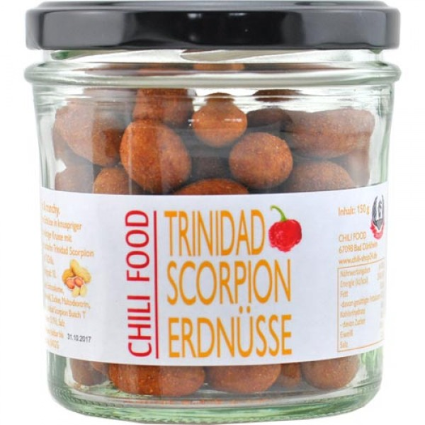 Trinidad Scorpion Chili Peanuts