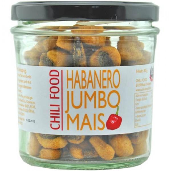 Jumbo Corn roasted with Habanero