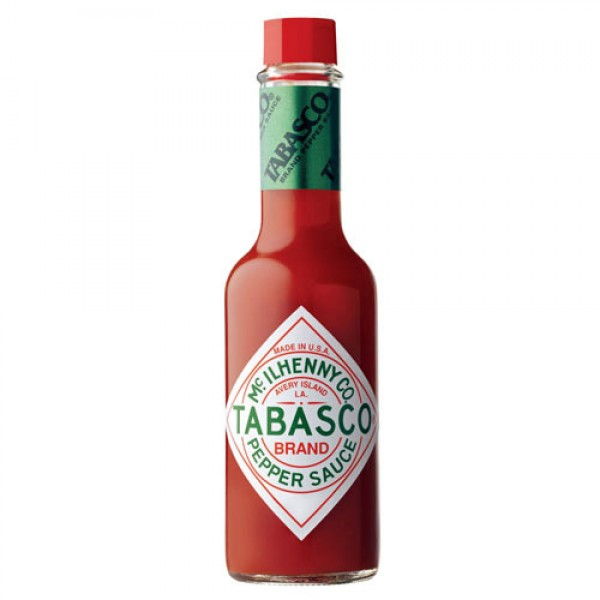 How many Scoville Units does Tabasco have?
