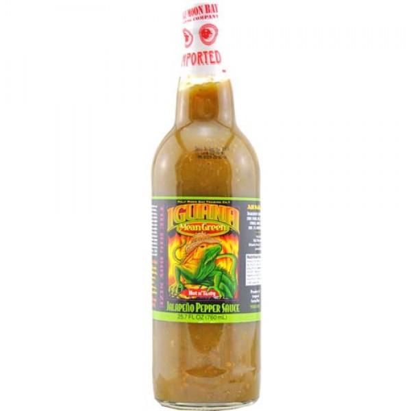 Iguana Mean Green Jalapeño Pepper Sauce (0,76 l)