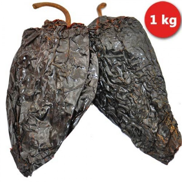Whole dried red Ancho Chillies 1kg