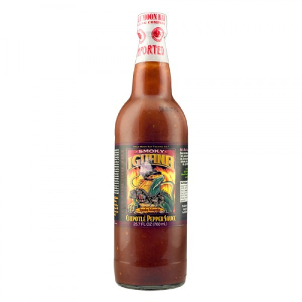 Iguana Smoky Chipotle Pepper Sauce 0.76 litre bottle