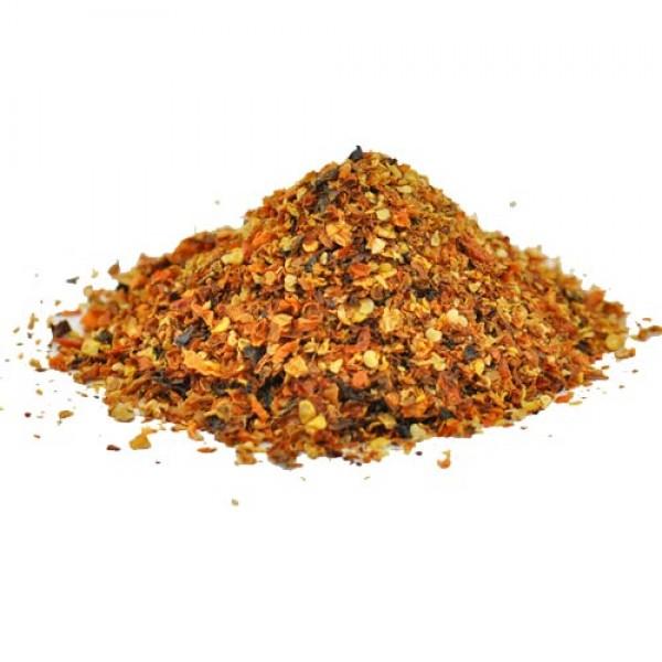 Bhut Jolokia Peach Chili Flakes