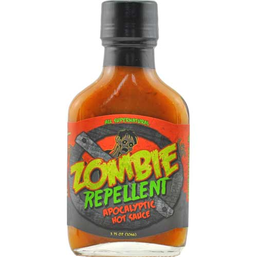order zombie repellent hot sauce online chili chili. Black Bedroom Furniture Sets. Home Design Ideas