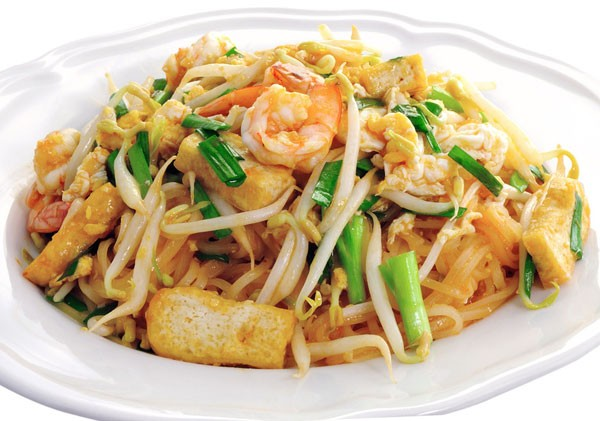 Phad Thai - fried noodles with shrimp