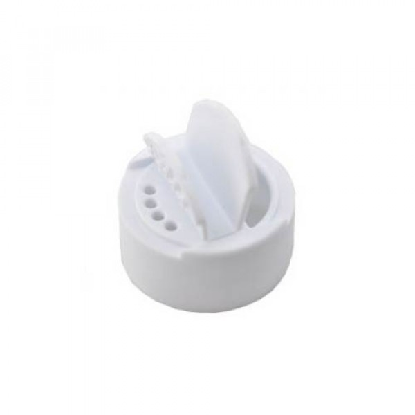 Combi lid (white) for glass spice shaker