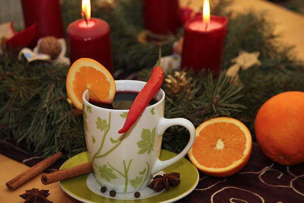 Mulled Wine with Chili