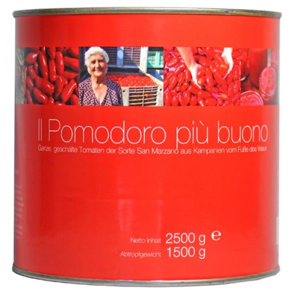 Whole, peeled San Marzano tomatoes