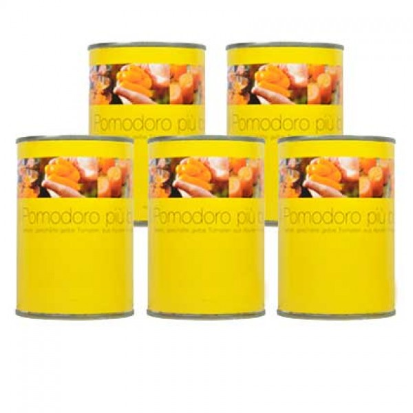 Yellow San Marzano Tomato, five-piece saver set