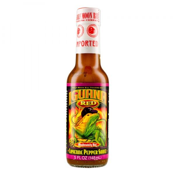 Iguana Red Cayenne Pepper Sauce