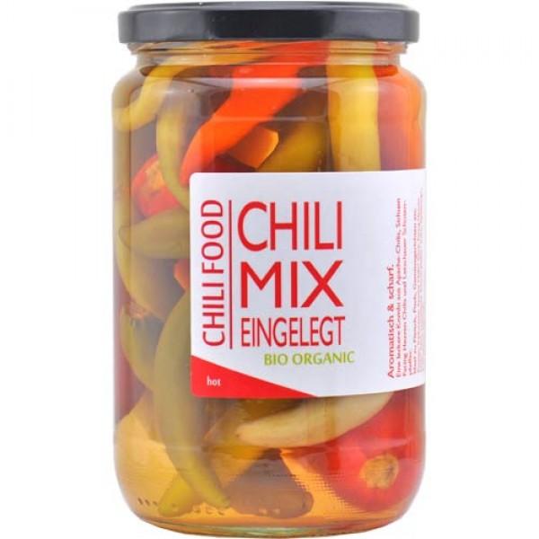 Chili Mix Pickles -Organic-