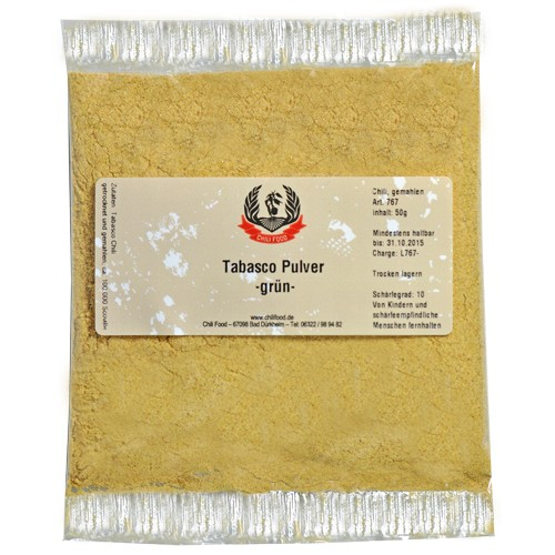 Green Tabasco Chili Powder 1000g