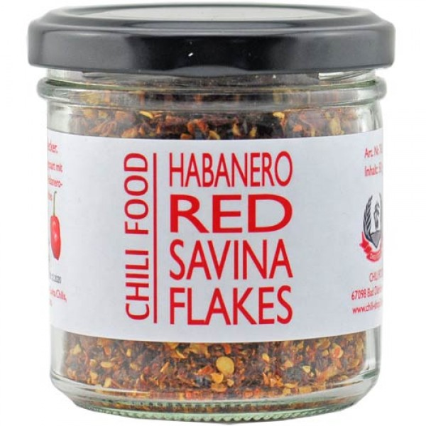 Red Savina Habanero Chili Flakes